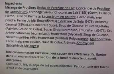 Protein Gourmet Bar - Ingredientes