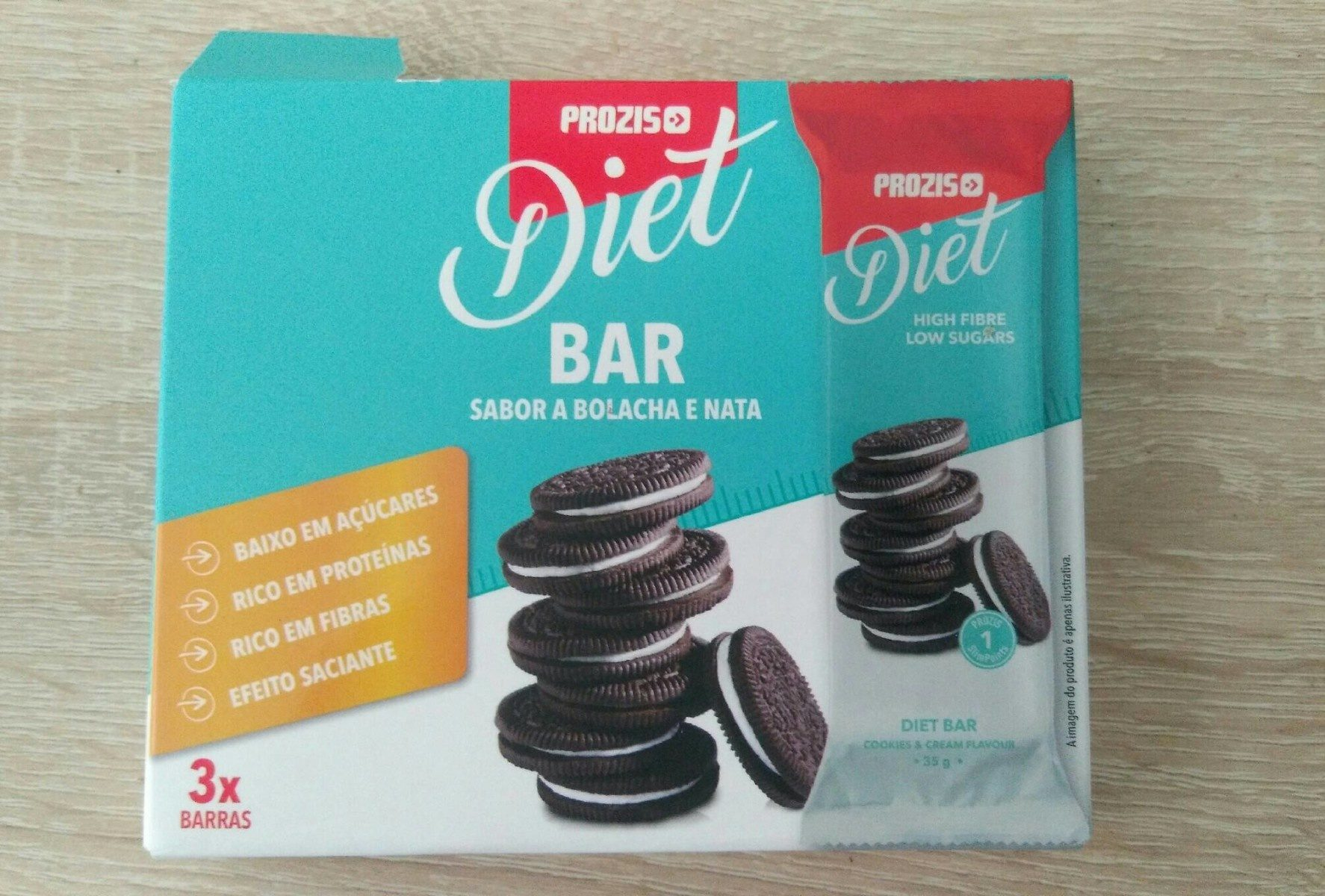 Diet bar - Producto