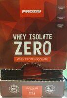 Whey Isolate Zero - Produit - fr