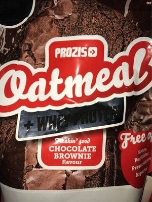 Oatmeal + Whey Protein - Produit - fr