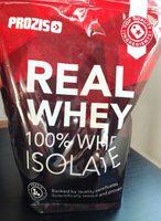 Real Whey Isolate Vainilla - Producte