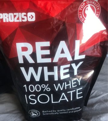Real whey isolate - Product