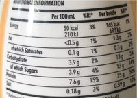 Prozis protein milk vanilla - Informations nutritionnelles - es