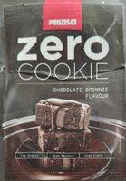 Zero Cookie sabor chocolate brownie - Producto
