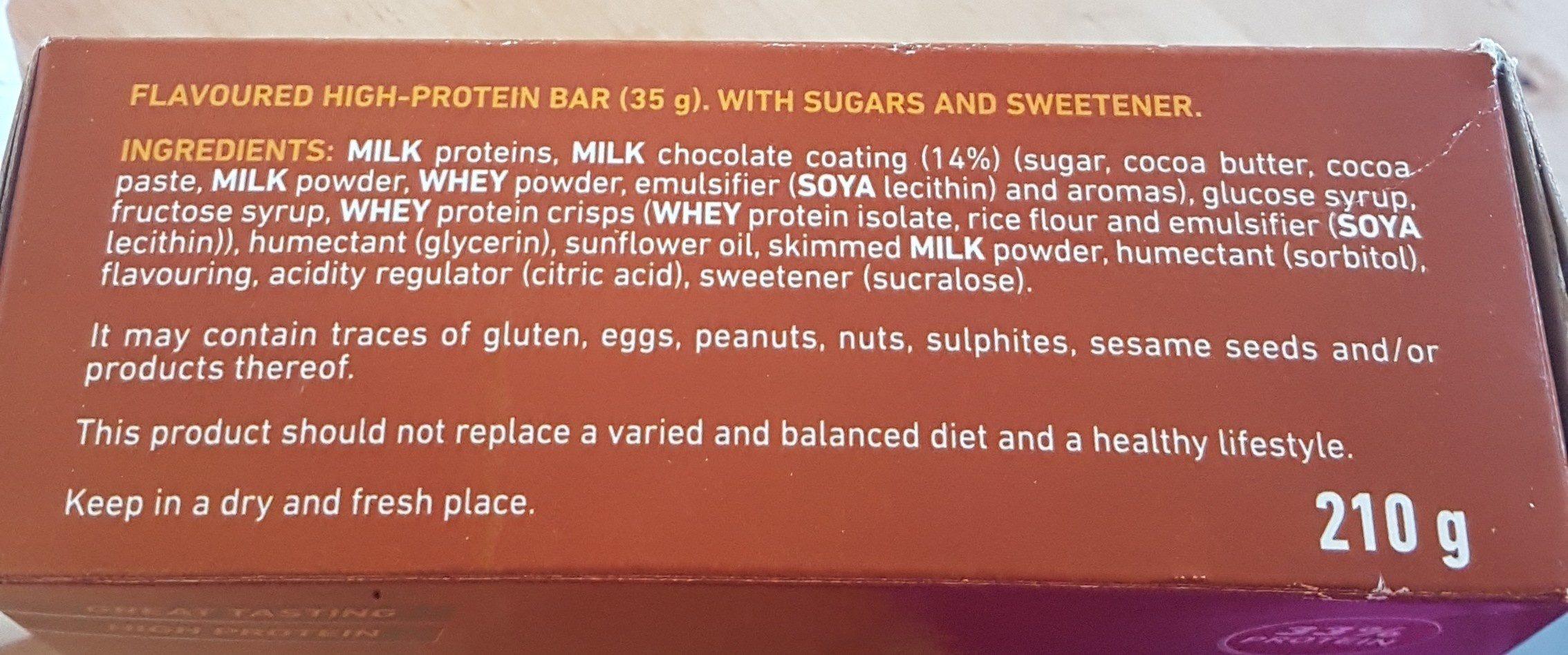 Crunchy protein - Ingrediënten - en