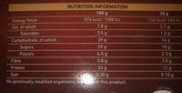 Crunchy protein - Voedingswaarden - en