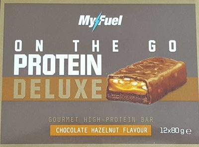 Protein Deluxe Bar Chocolate Hazelnut Flavour - Produit - fr
