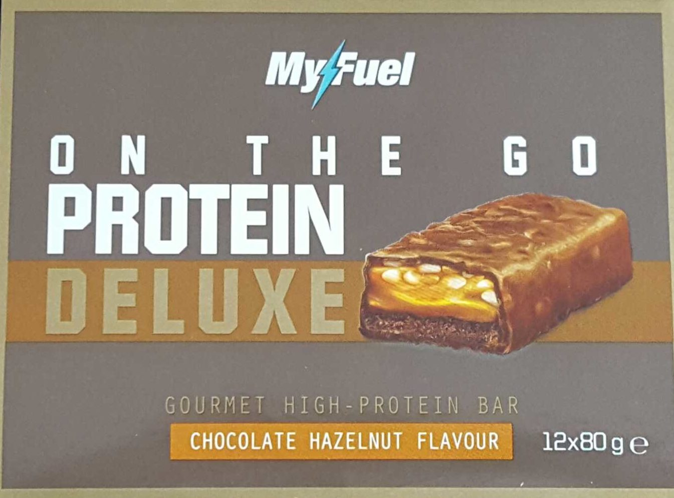 Protein Deluxe Bar Chocolate Hazelnut Flavour - Product - fr