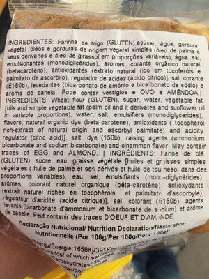Paciencias - Ingredients - fr