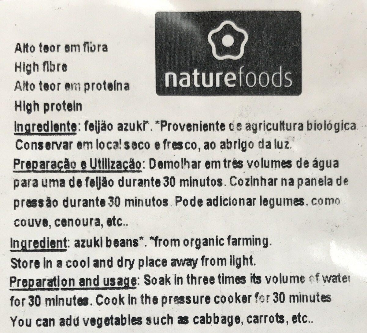 Haricots azukis - Ingrédients - fr