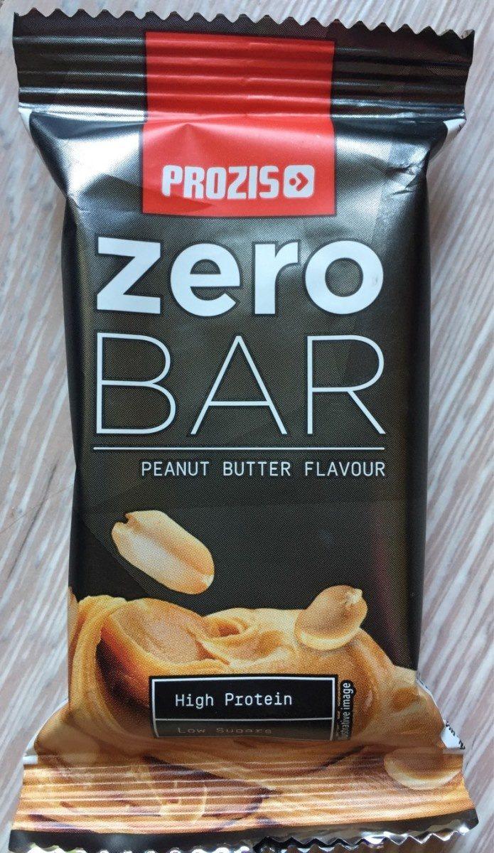 Zero bar beurre de cacahuète - Product - fr