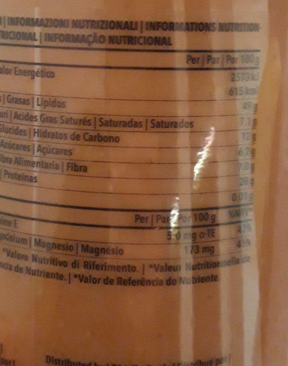 Organic peanut butter - Informations nutritionnelles - fr