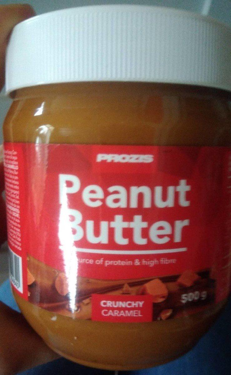 Peanut butter crunchy caramel - Produit