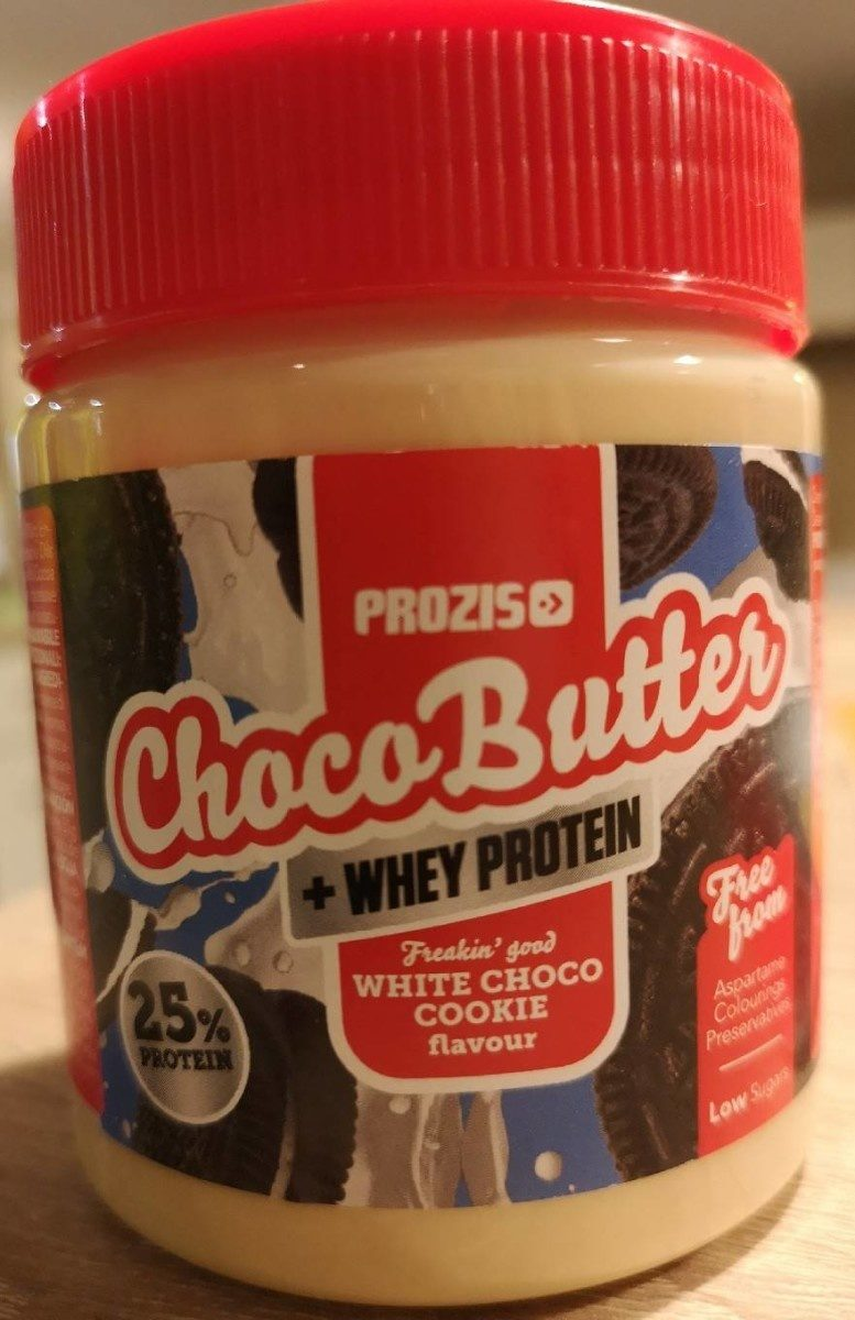 ChocoButter White choco cookie - Producto