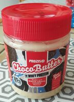 ChocoButter White choco cookie - Información nutricional