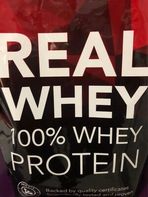Real 100% Whey Protein - Producto