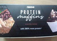 Protéin muffins crunchy cocoa - Produit