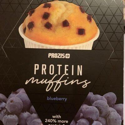 Peotein muffins blueberry - Produit