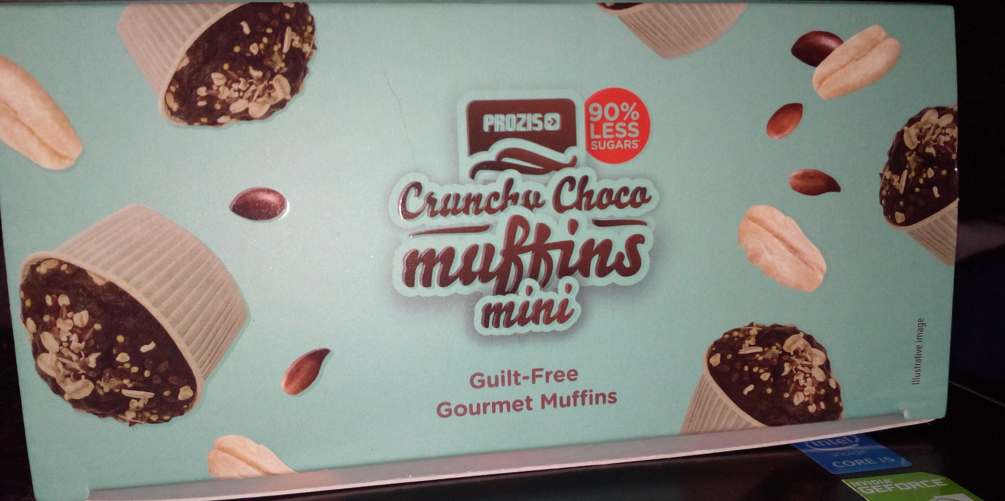 Muffin chocolat Crunchy - Product