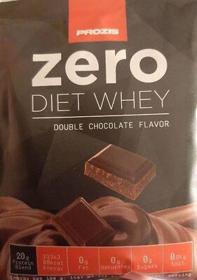 Zero diet whey double chocolate - Product