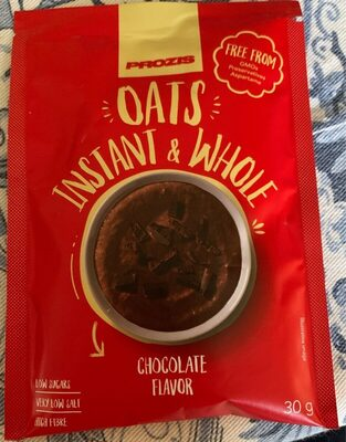 Oats, instant & whole chocolate flavor - Producto - es