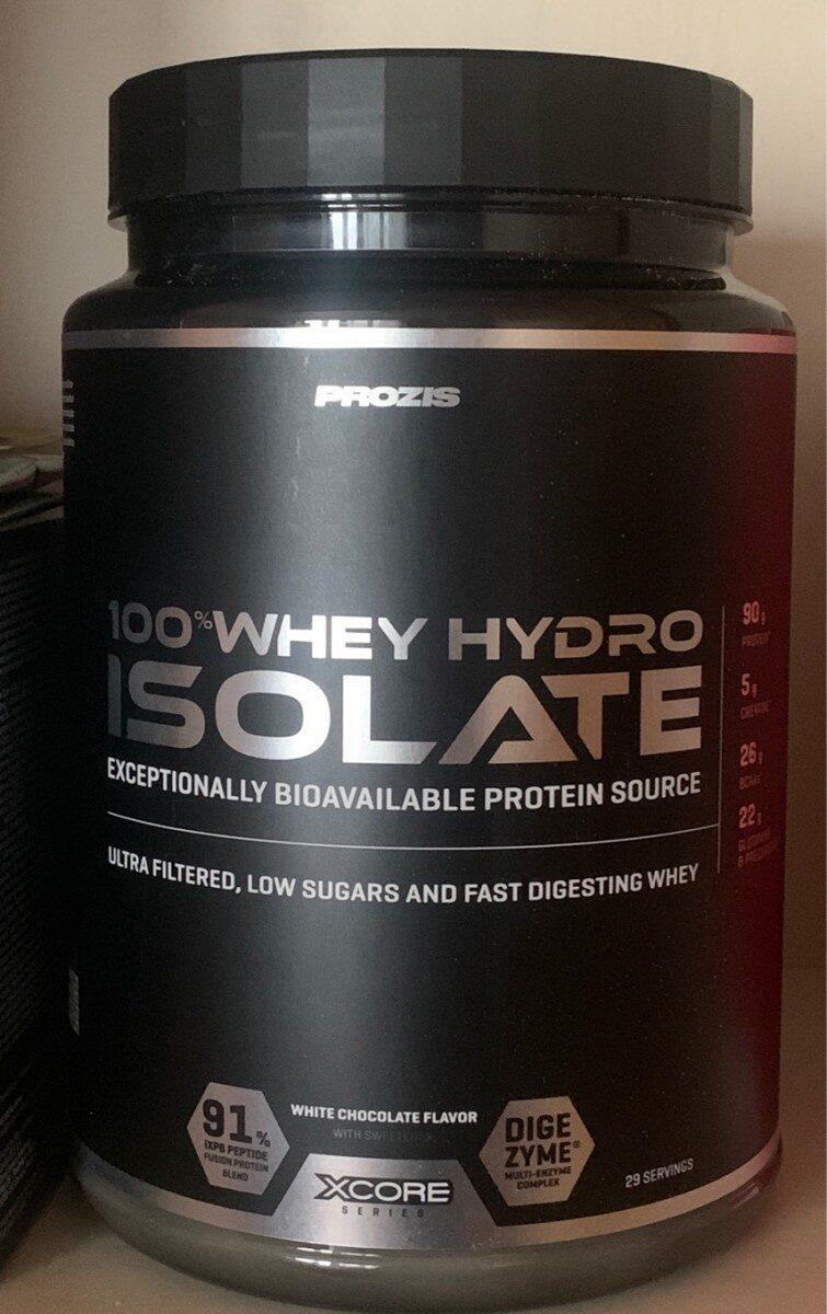 100% Whey Hydro Isolate - Producto