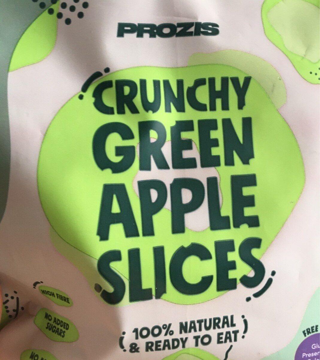 Crunchy green apple slices - Produit - fr