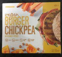 Vegan Burger Chickpea - Producto