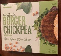 Burger chickpea - Product