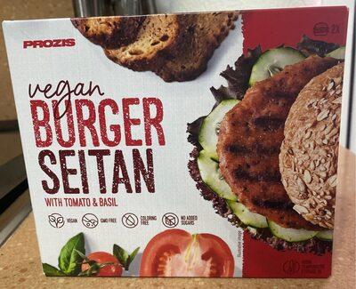 Burger Seitan with tomato & basil - Producto
