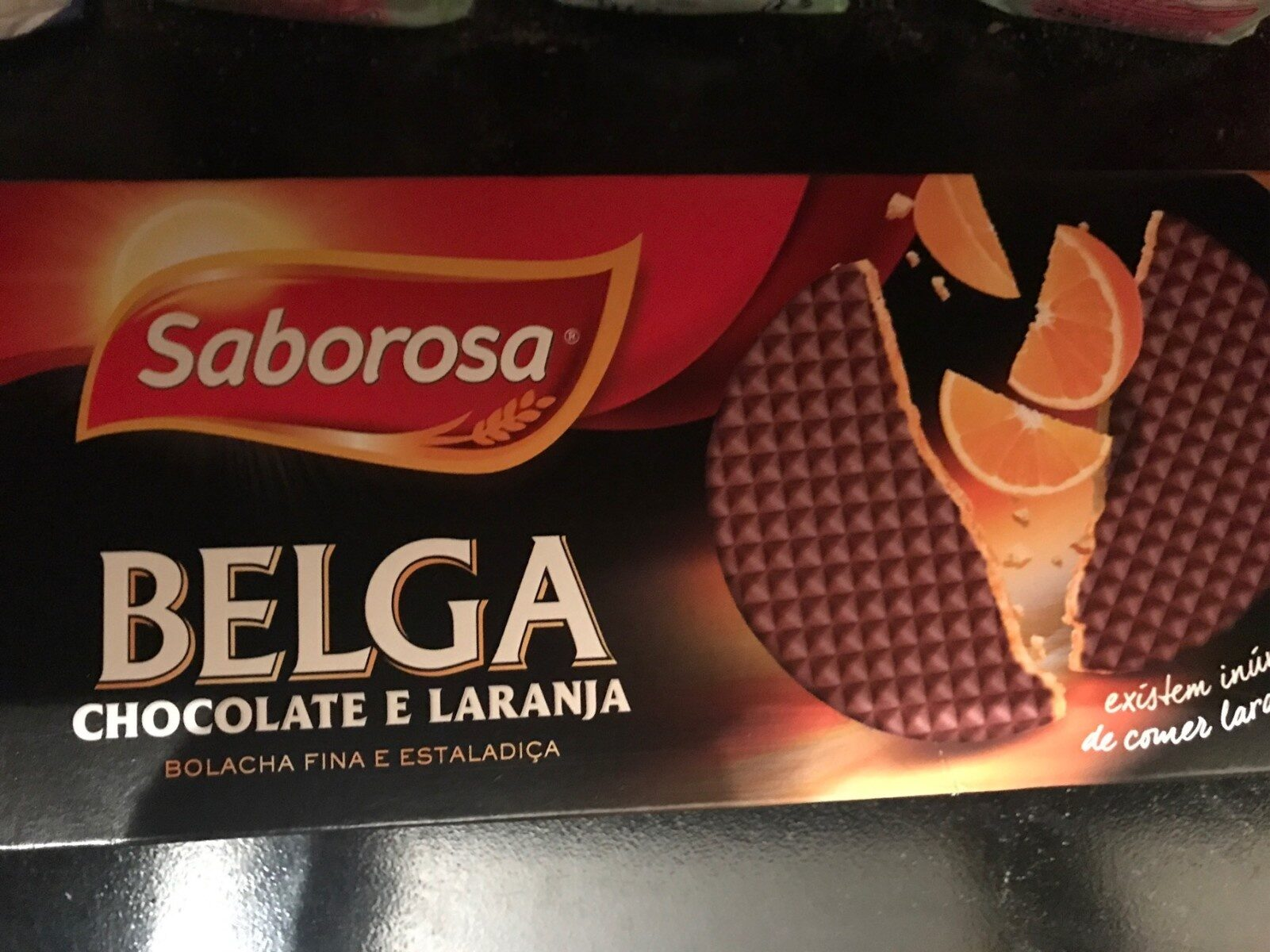 Belga chocolate e laranja - Produit - fr
