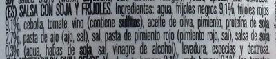 Chili vegetal - Ingredientes