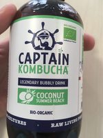 Kombucha Coconut Summer Beach 400ML Bio - Captain Kombucha - Product