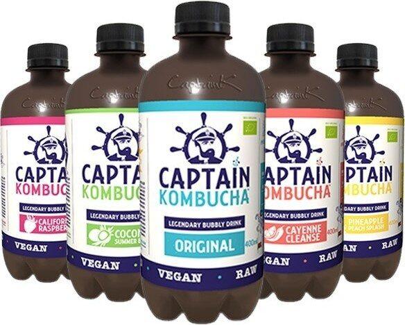 Captain Kombucha de Coco - Prodotto - fr