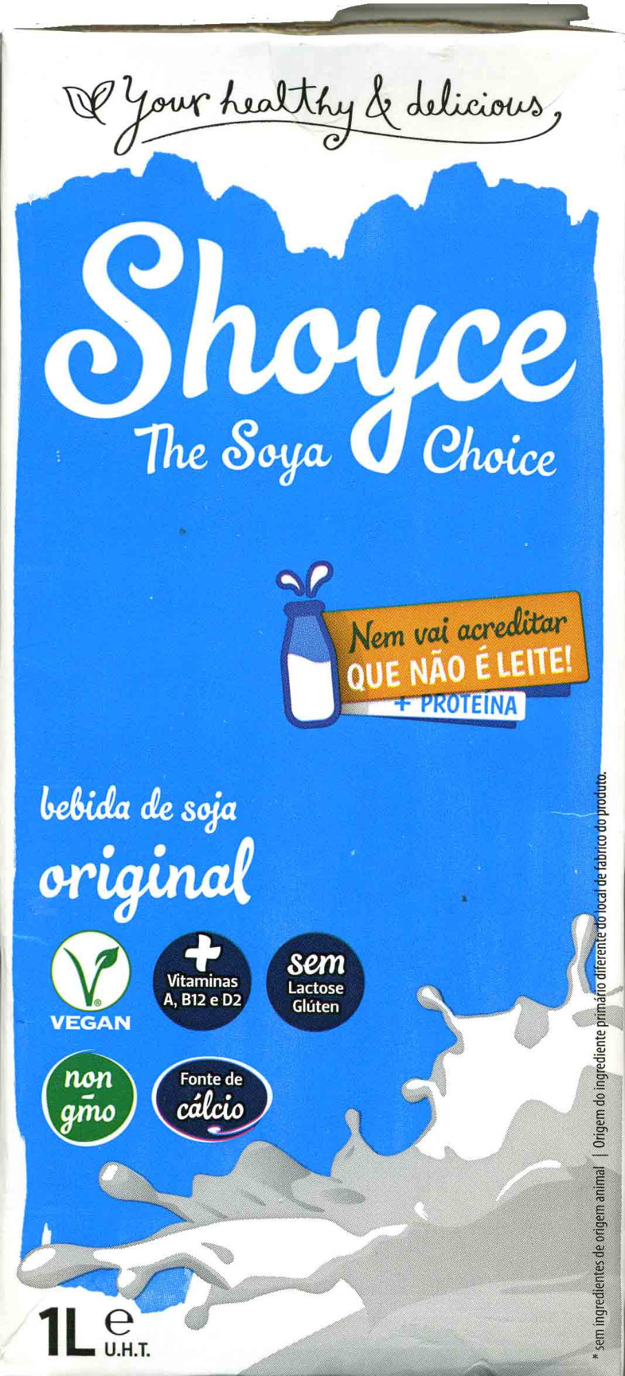 Bebida de soja Original - Producto