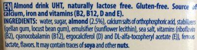 Almendra - Ingredients - en