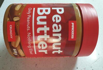 Peanut Butter Crunchy - Produto - fr
