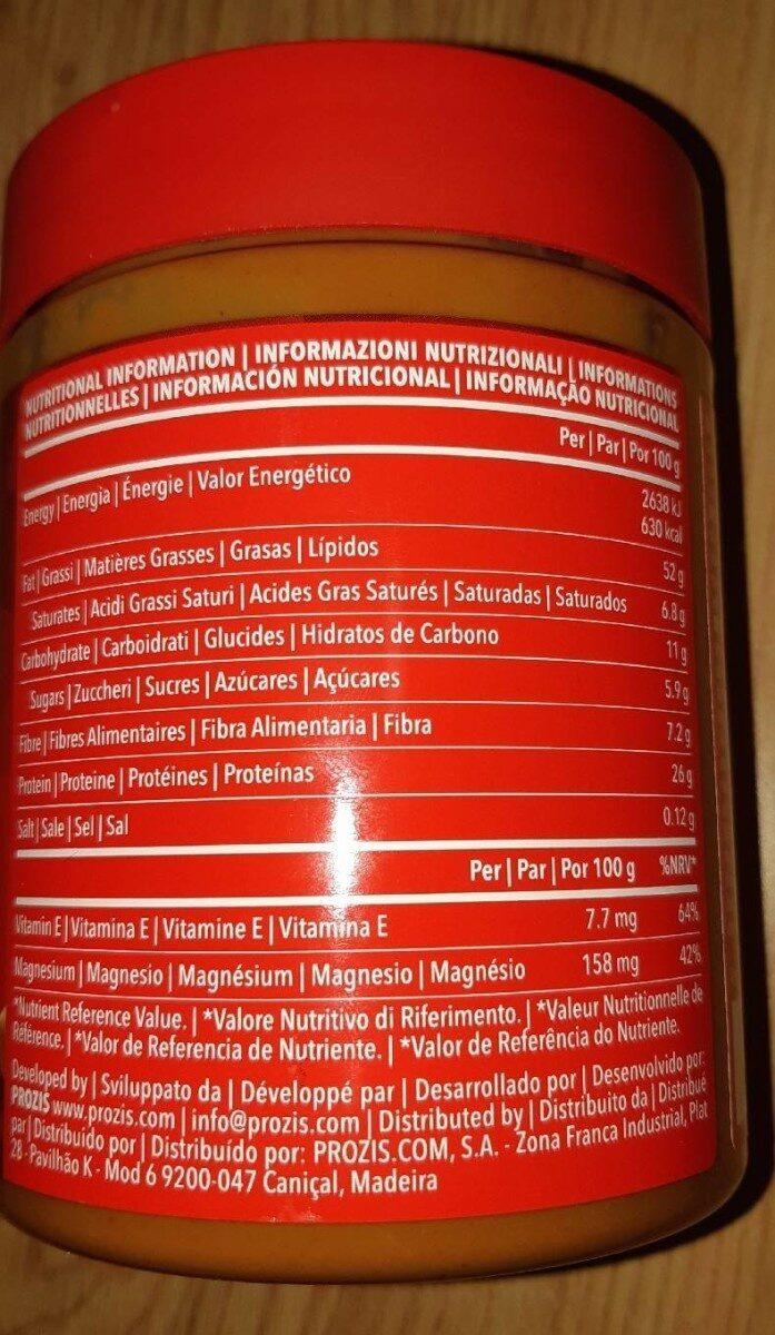 Peanut Butter Crunchy - Informação nutricional - fr