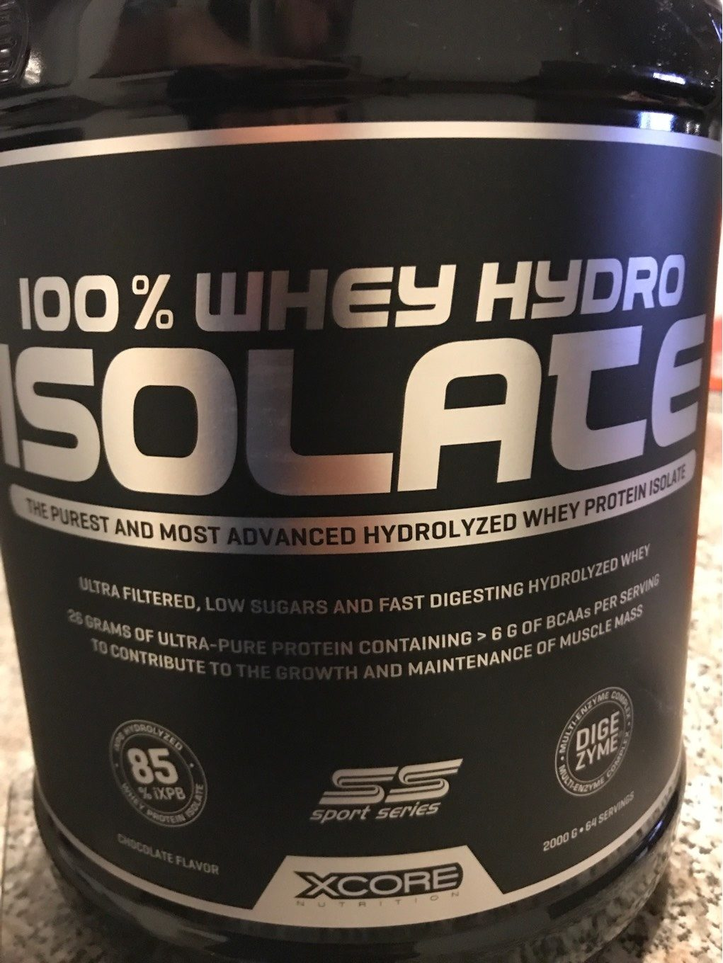 Whey Hydro Isolate - Produit - fr