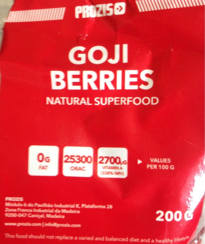 Goji Berries - Producto - fr
