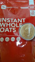 Instant whole oats natural - Product