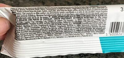 Diet Bar, Chocolate Chip - Informations nutritionnelles - fr