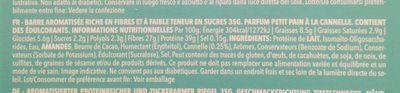 Prozis Diet, Petit Pain à la Cannelle - Ingredients