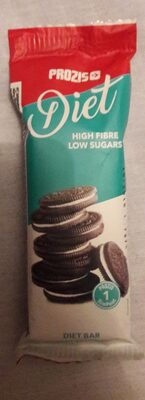 Diet bar cookies and cream flavour - Produit - fr