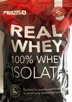 Real Whey 100% Whey Isolate chocolate-hazelnut flavour - Product