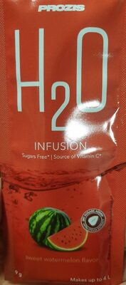 H2O infusion - Product