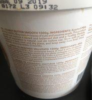 Peanut butter - Ingredients