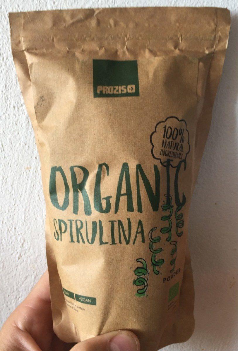 Organic spiruline - Produit
