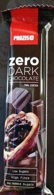 Zero dark chocolate - Producto - es