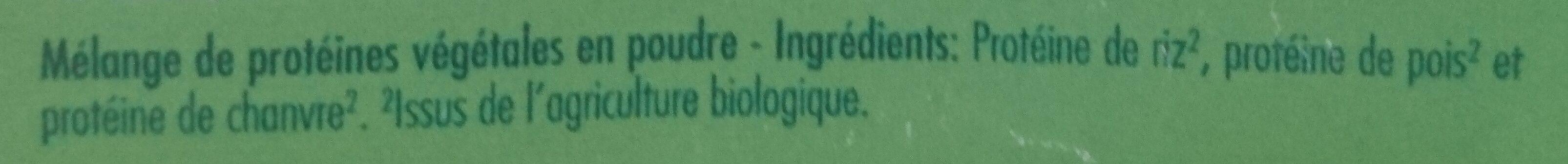 Super Vegan Protéines - Ingredienti - fr